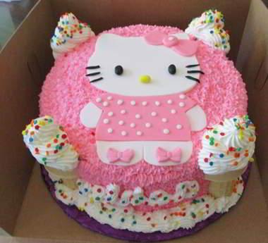 Cara Mudah Membuat Cake Hello Kitty Http Resepnyakue Com Kue Ulang Tahun Hello Kitty Html Site Title